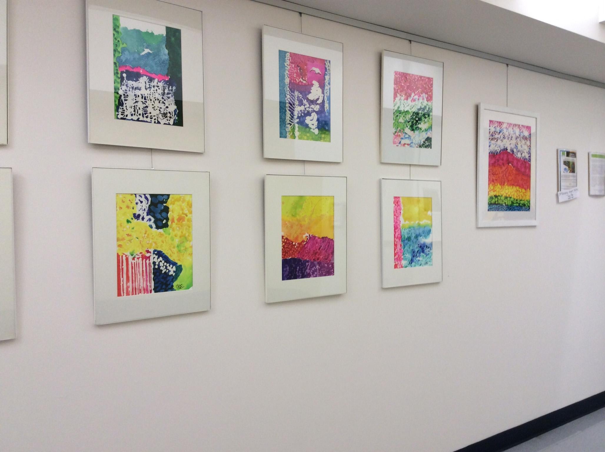 Art display at The Creative Center.  ©New York's Creative Center at University Settlement