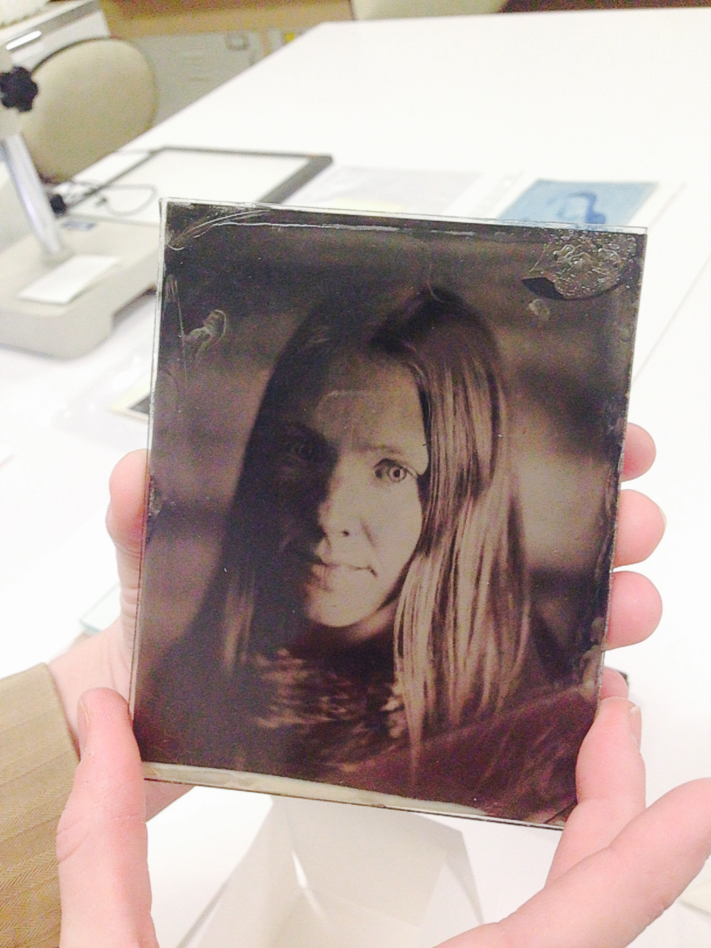 Tintype by Amy Brost  Photo: Ellyn Kail