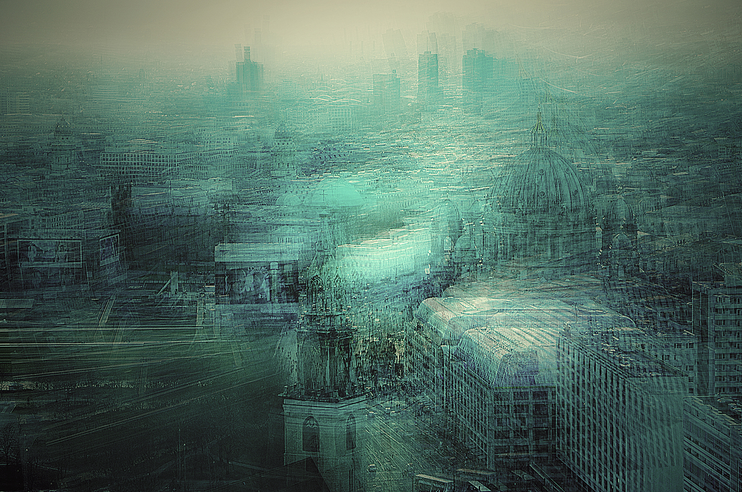 Berlin View   Stephanie Jung  6 x 9, Edition of 5, signed and numbered Archival pigment print