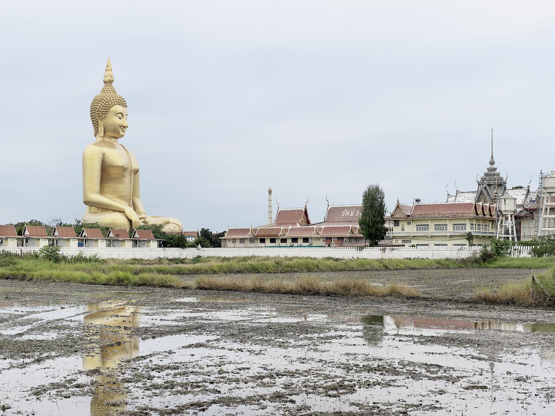 Grand Bouddha Sakayamunee, Ang Thong, Thailand (built in 2008), Colossess ,  Fabrice Fouillet
