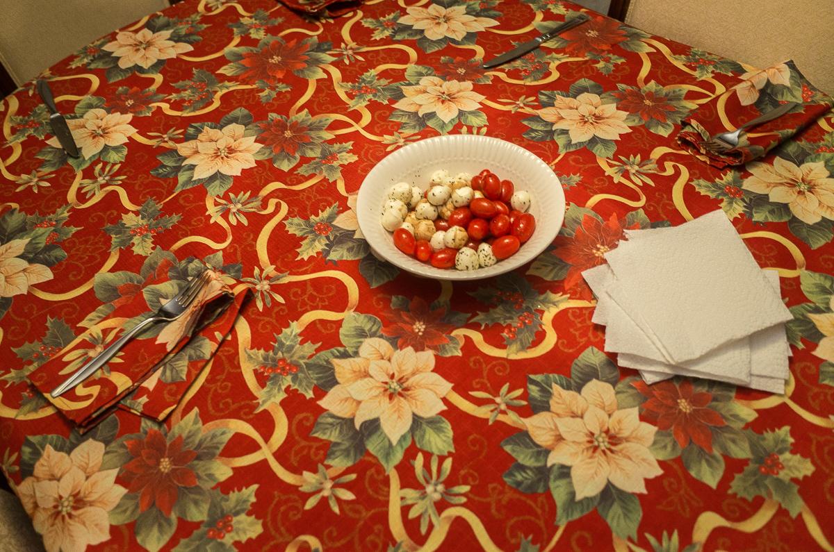 My Mother's Dinner Table, Buffalo, NY,  Kevin Michael Klipfel