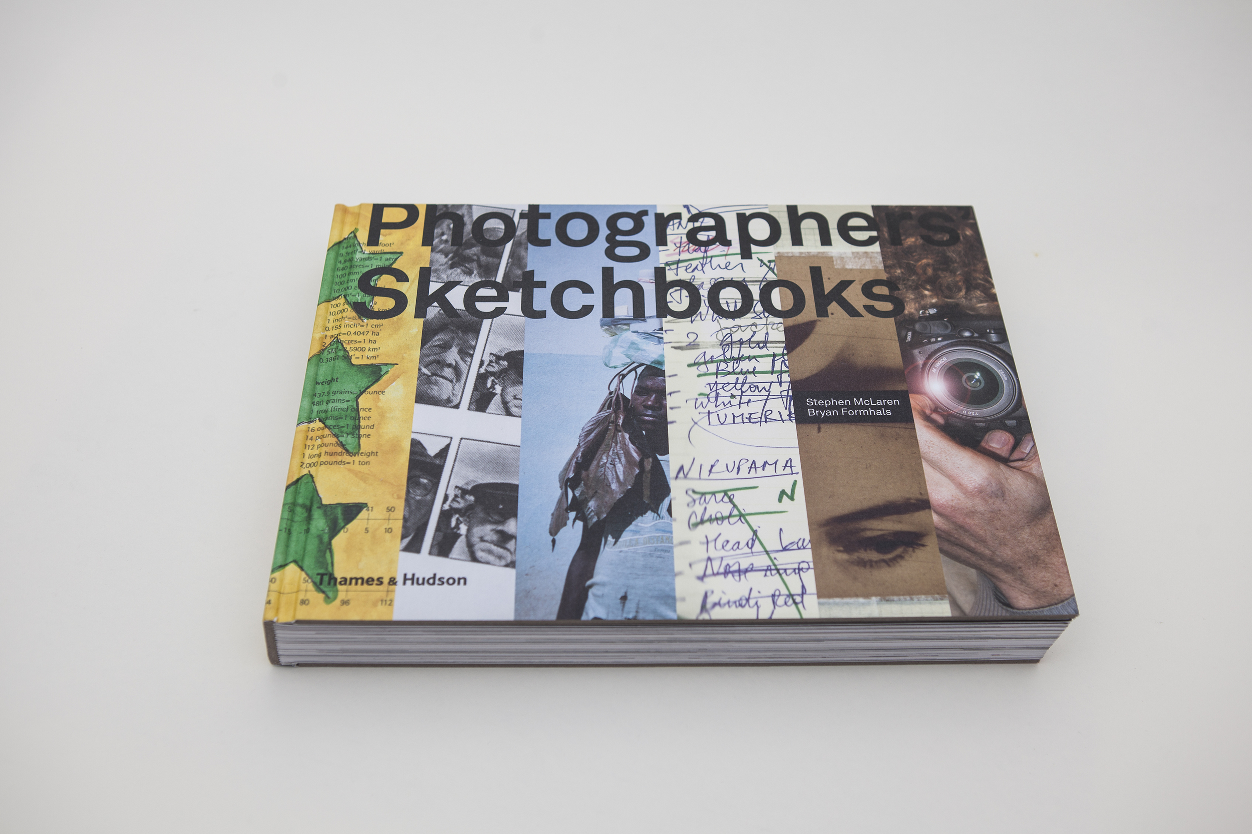 Photographers' Sketchbooks   by Stephen McLaren & Bryan Formhals Thames & Hudson, 320 pp., $60