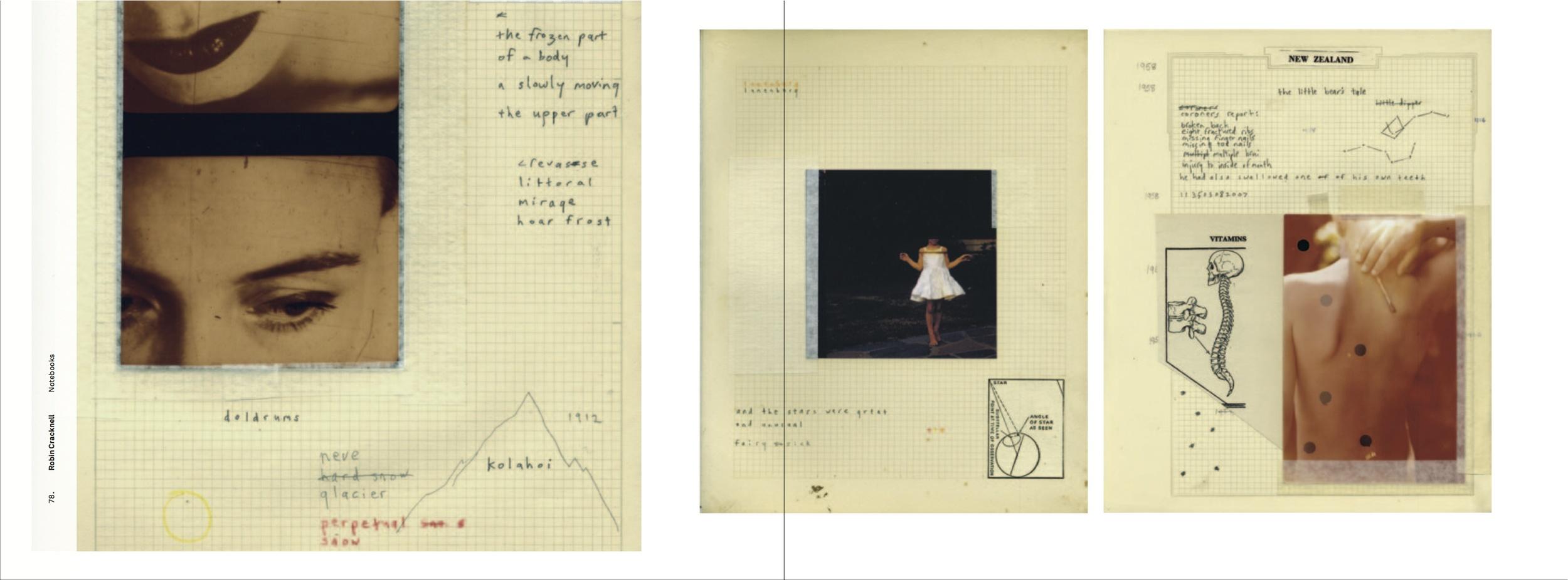 Robin Cracknell's sketchbook.