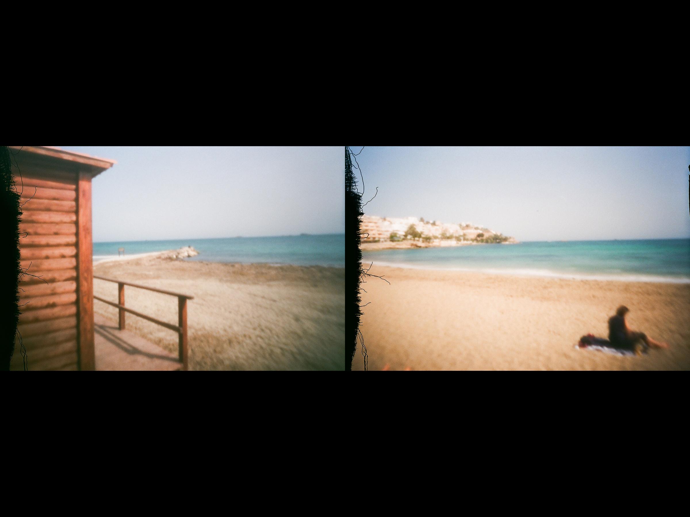 Photographs from 35mm pinhole camera.
