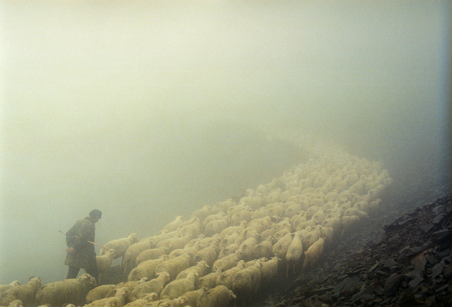 Up to the Mountains in the Fog   Dmitry Gomberg  6 x 9, Edition of 5, signed and numbered Archival inkjet print