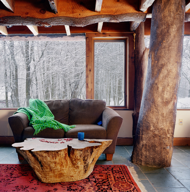 Untitled Interior (sofa and tree)