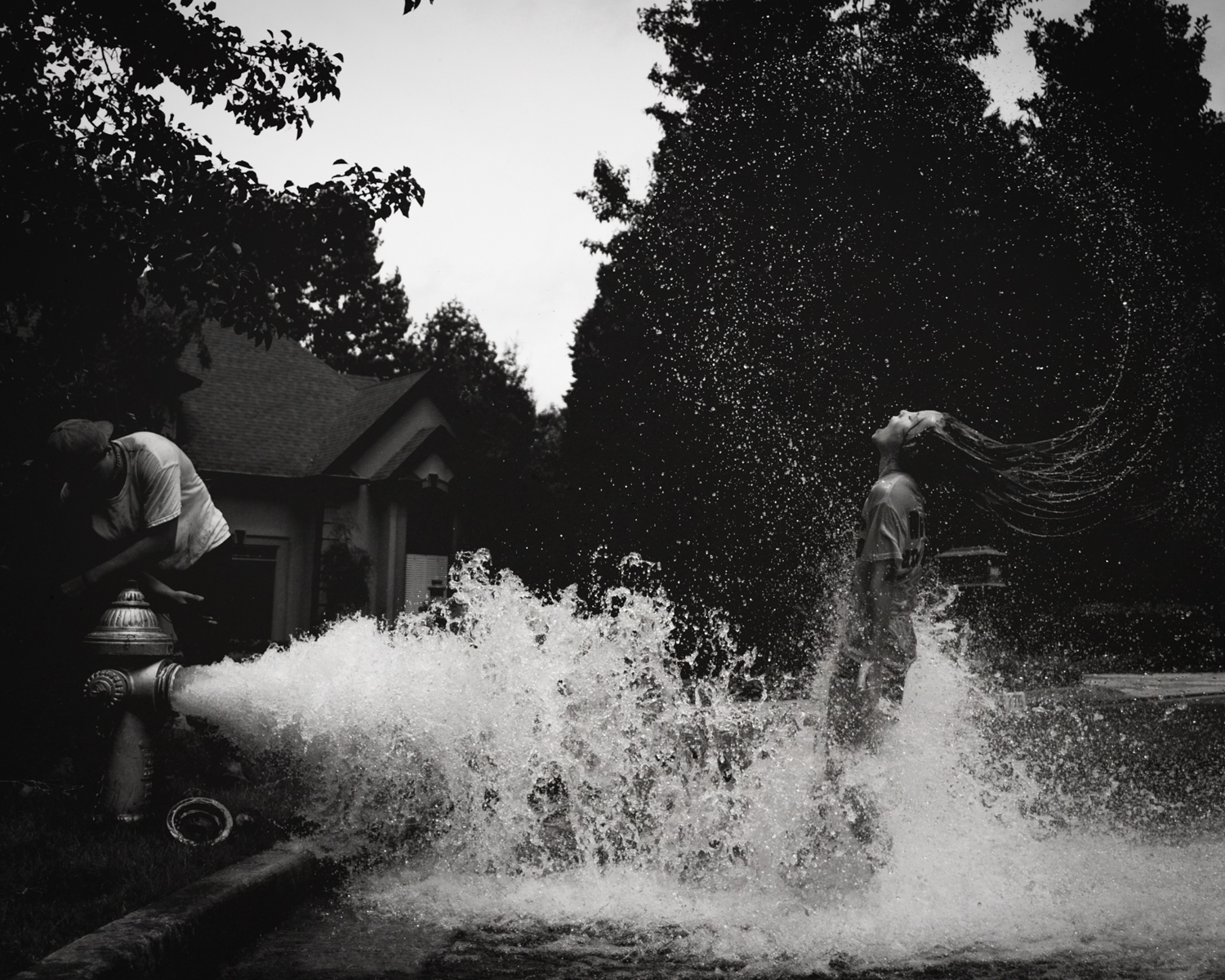Testing the Hydrant ,  Kate T. Parker