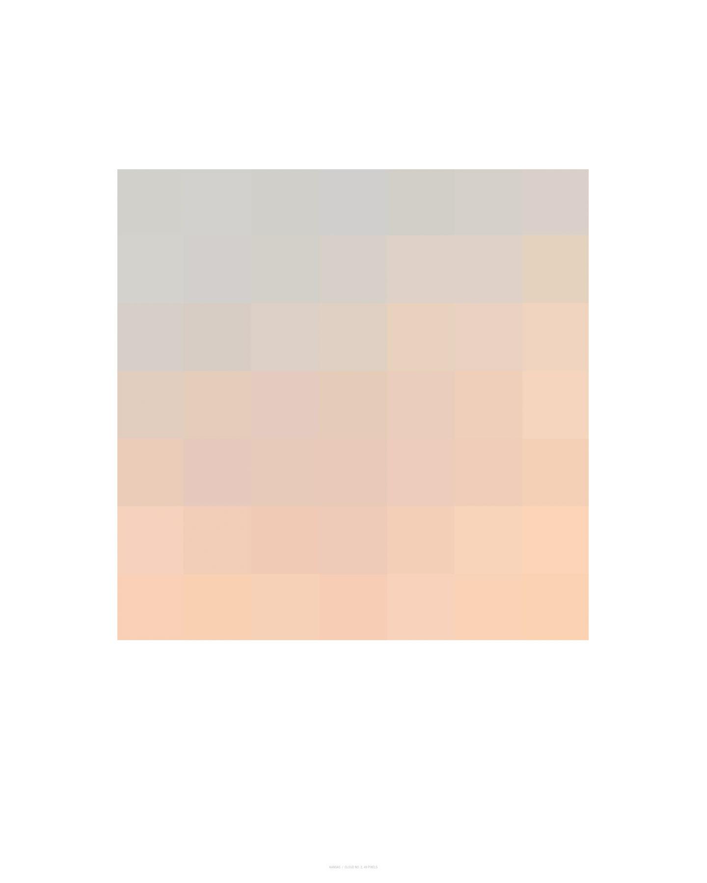 Cloud No. 2, 49 Pixels