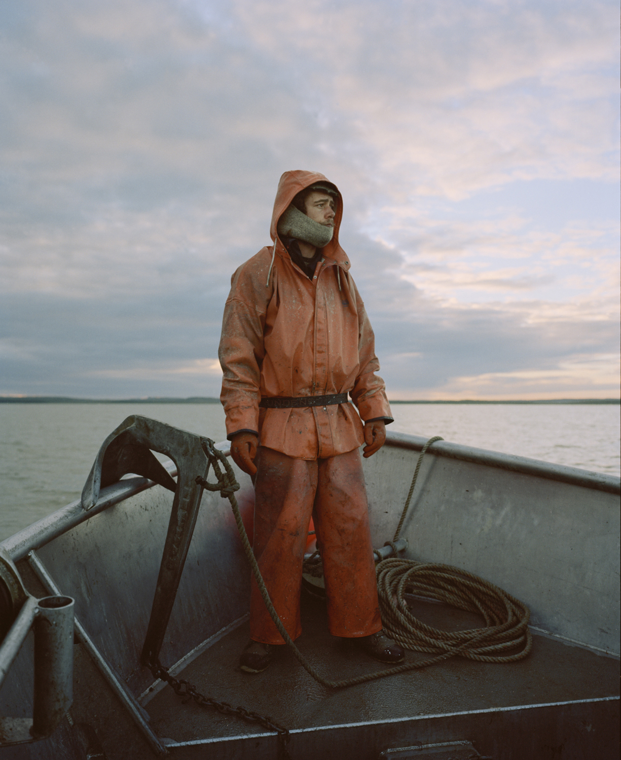 Sigurd the Viking, Nushagak Bay, AK, 2014  from the series  The Tide Goes North ,  Terry A. Ratzlaff
