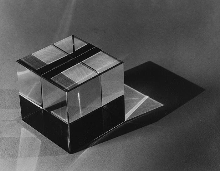 Carlotta Corpron (American, 1901-1988), Black and White Box, 1945; 1993:28