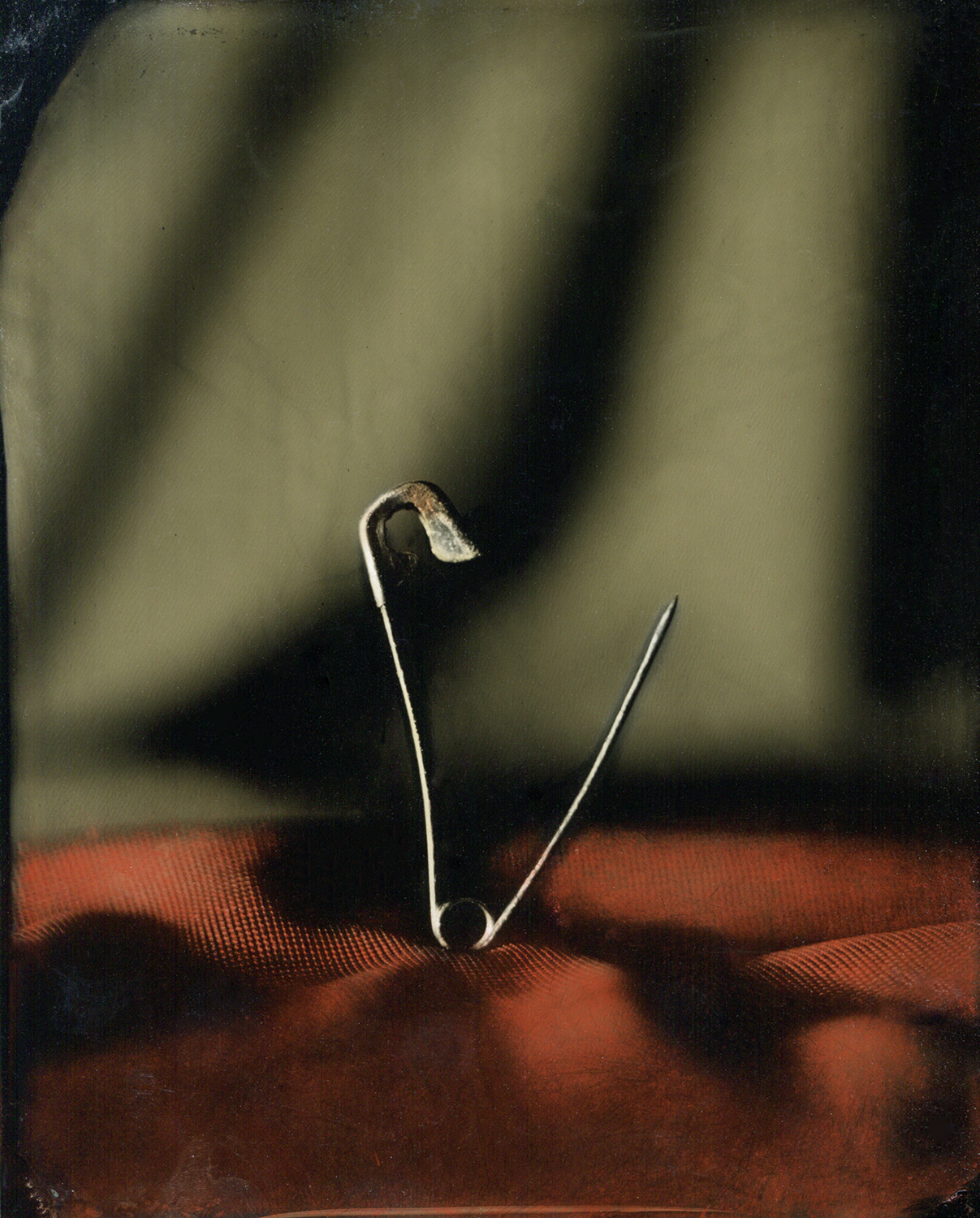 Open Safety Pin , from series  Lost. Broken. Found. Fixed.,  Heather F. Wetzel