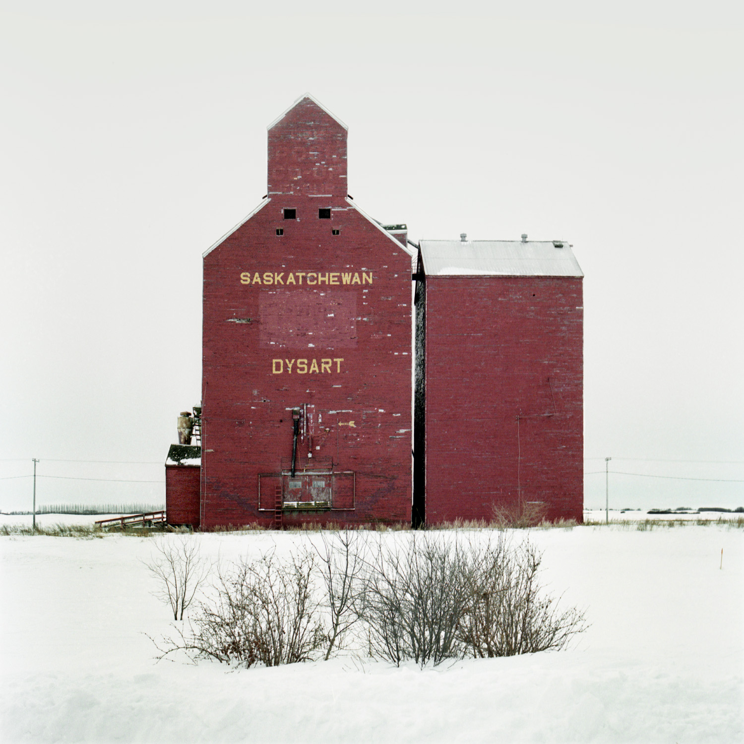 Grain Elevator No. 8, Saskatchewan, Canada  from the series  The Elevators ,  Vera Saltzman