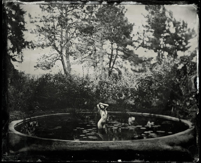 Daria in Pond