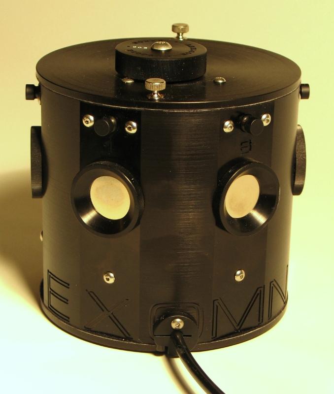Hexomniscope camera