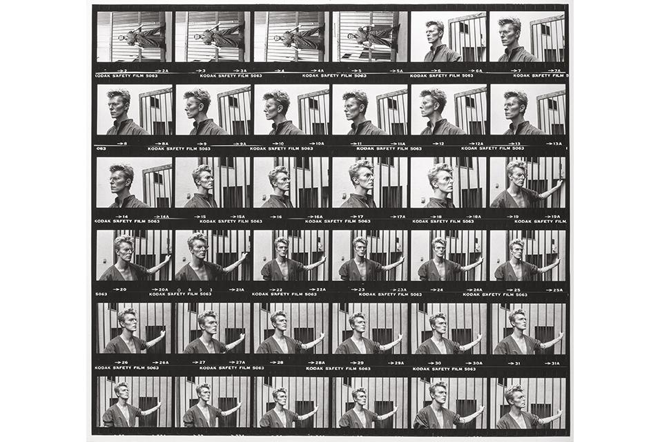 Helmut Newton, David Bowie (1983) . Photo courtesy of Heritage Auctions.