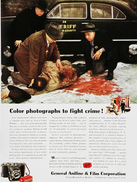 1954, General Aniline & Film Corporation