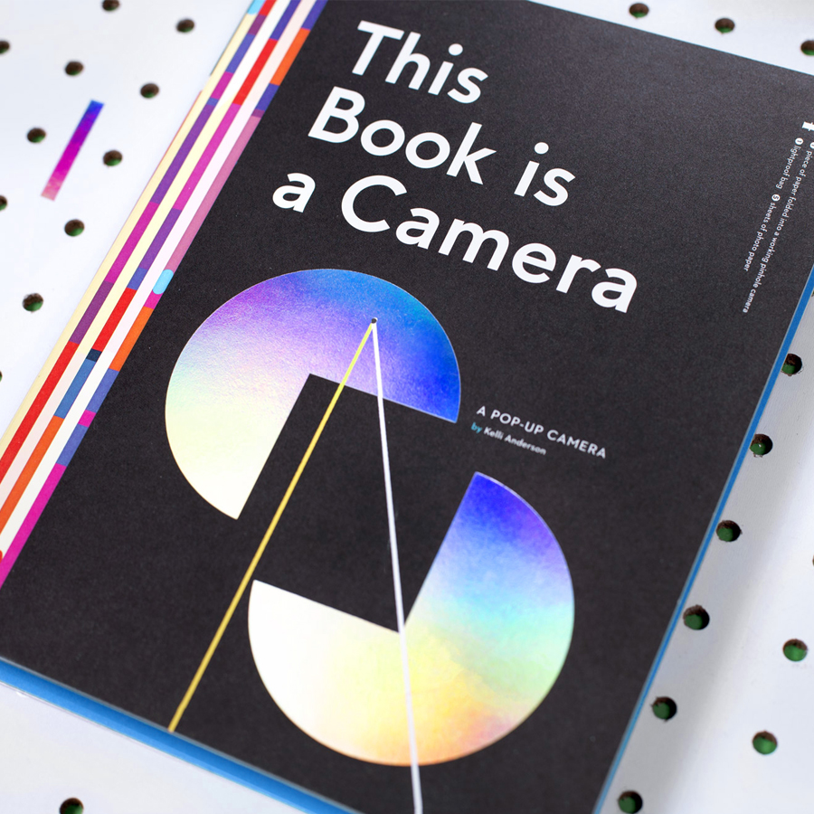 This Book Is a Camera  in book form