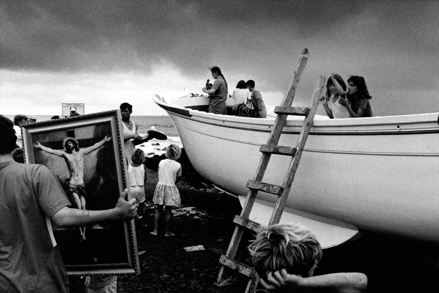 Christening of an Artisan Fishing Boat, Sao Miguel Island, Azores