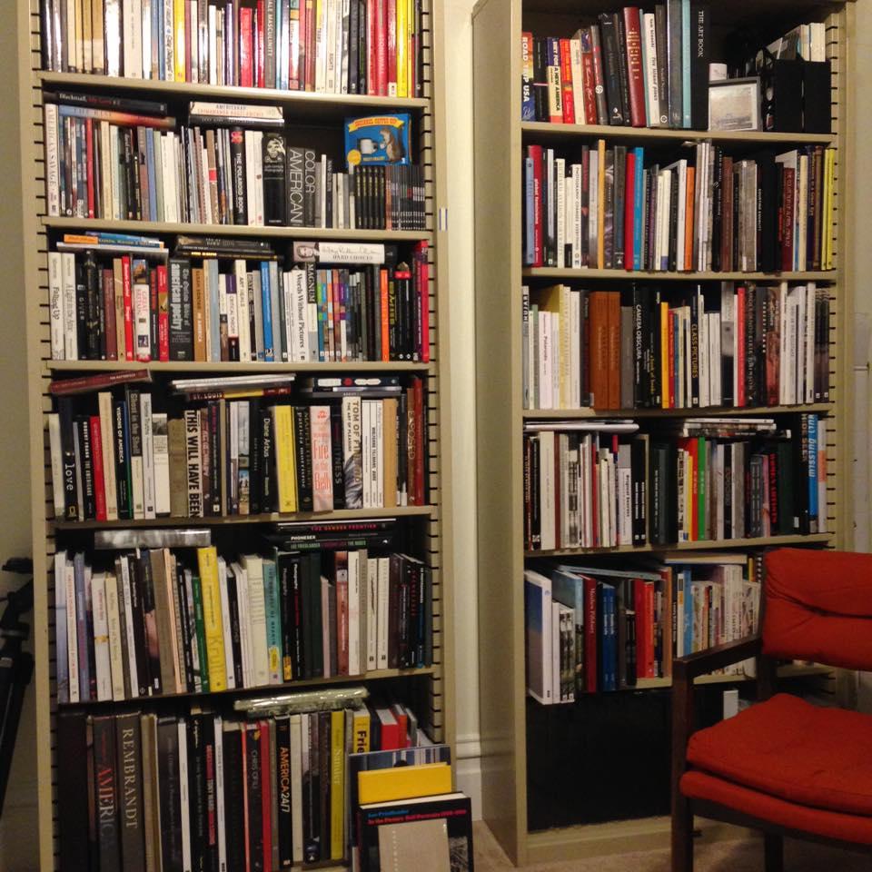 Jess T. Dugan 's comfortable reading nook.