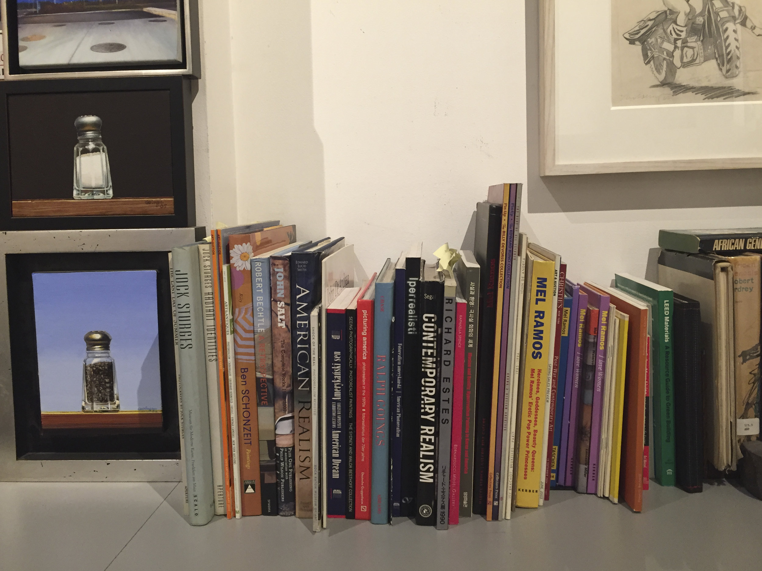 Small books and small works in the Meisel Gallery