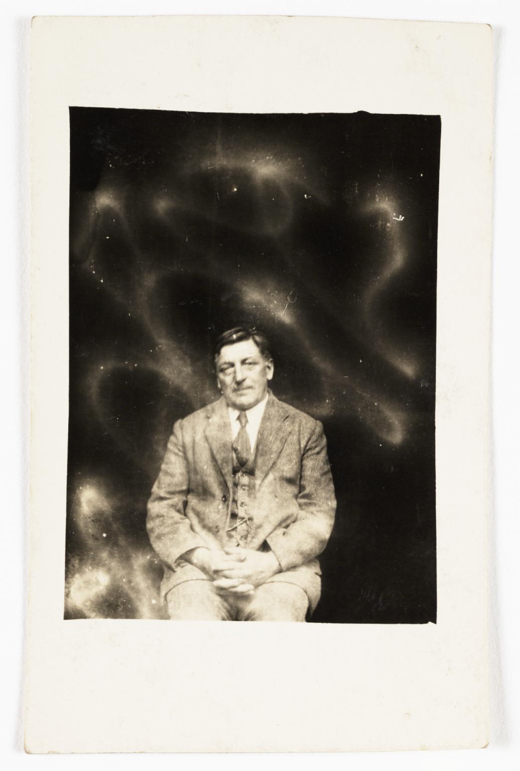 Spirit photograph by William Hope, c. 1920