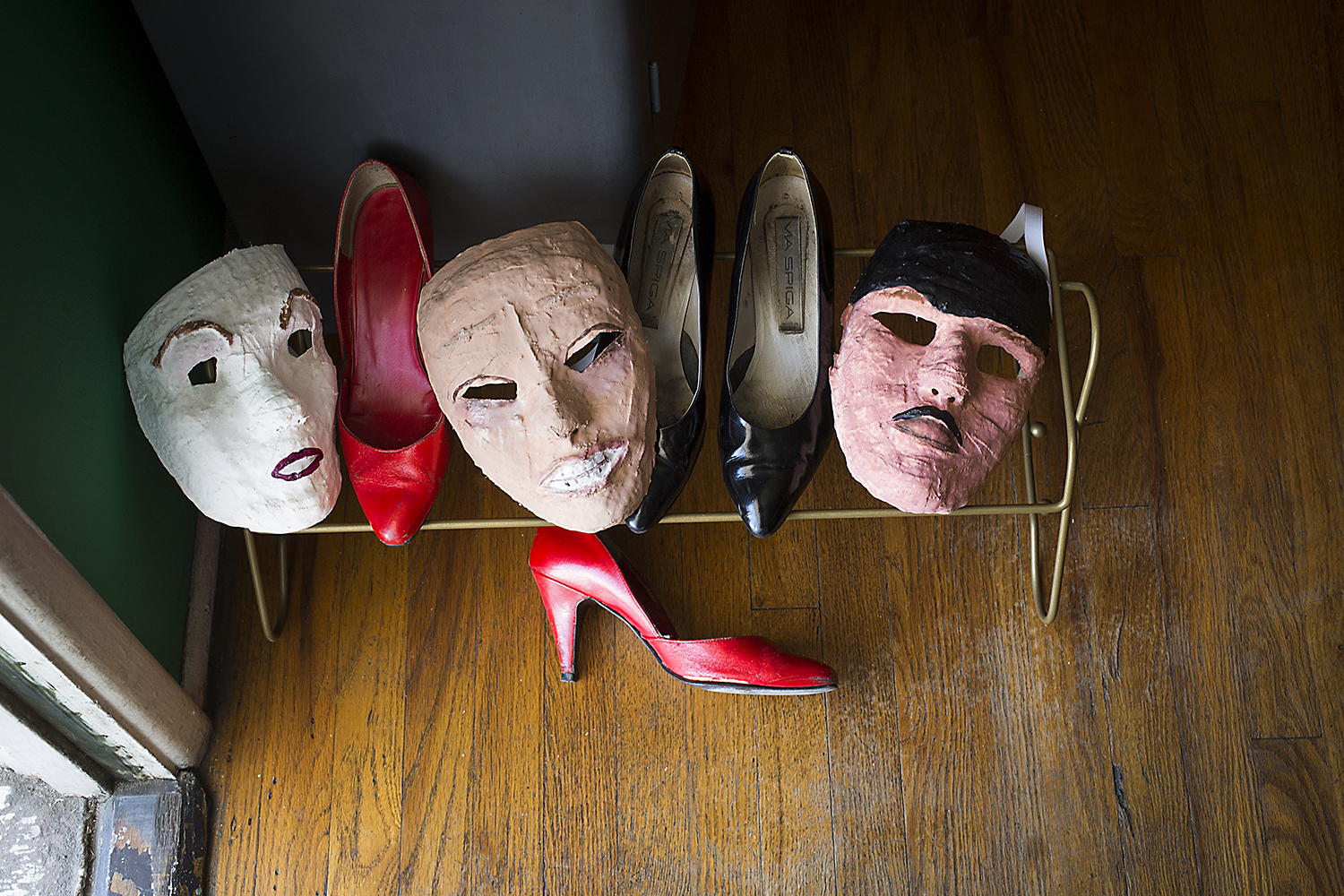 Leave Your Masks at the Door