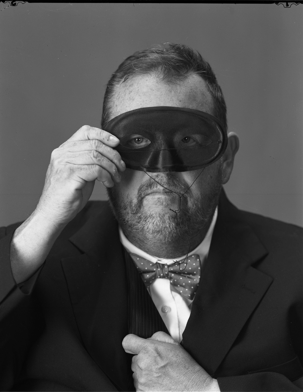Self-portait With Mask