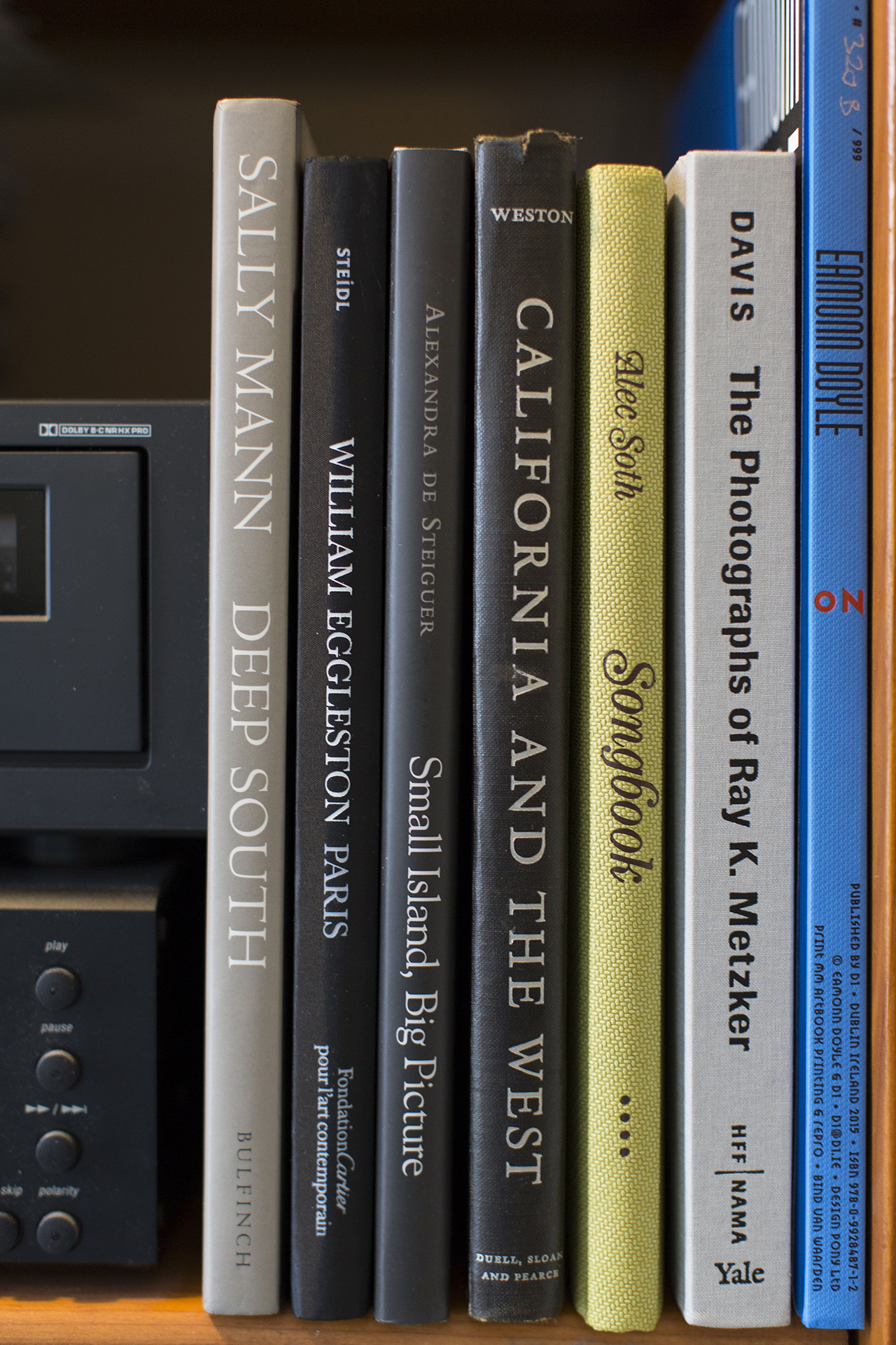 Some of  Ron Cillizza 's favorite photobooks. (Submitted via Instagram by  @roncillizza )