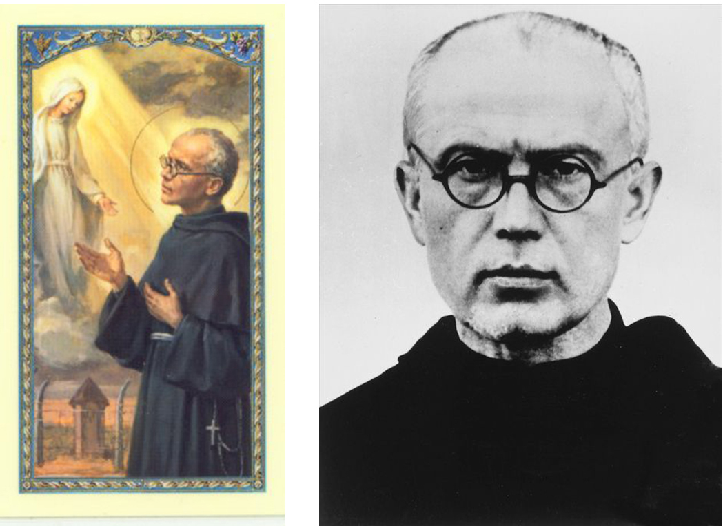 Saint Maximilian Kolbe  (1894 – 1941). Canonized: 1982. Photo: 1939
