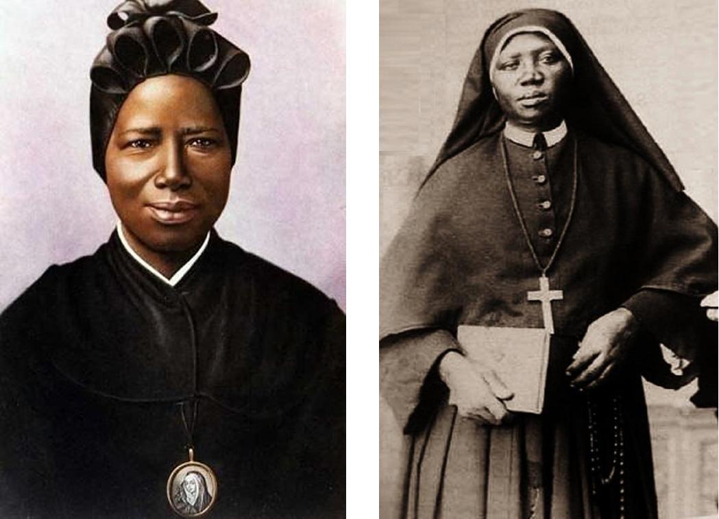 Saint Josephine Margaret Bahkita  (1869 – 1947). Canonized: 2000. Photo: c. 1900s