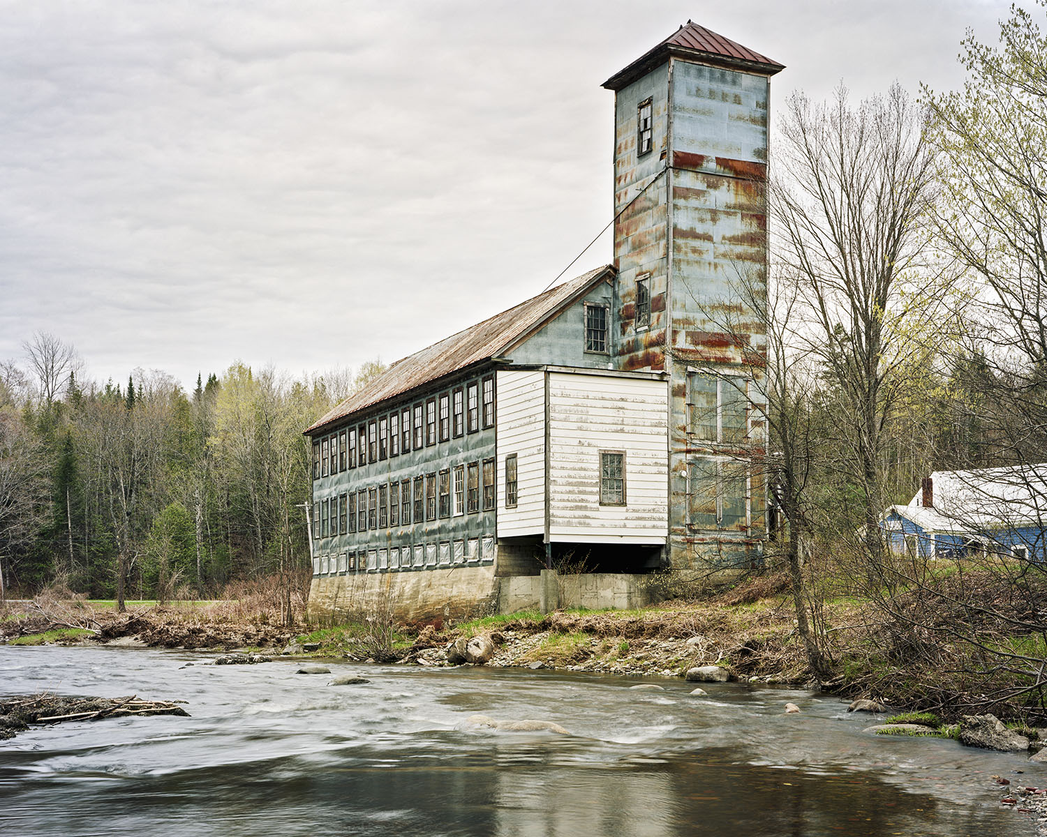 Christopher Payne  Bartlettyarns, Harmony, Maine, 2010  Archival inkjet print 7 x 9, signed and numbered edition of 5 $150