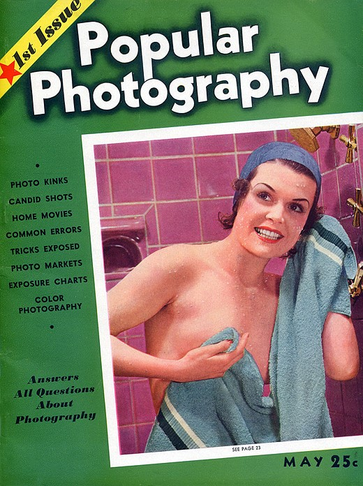 The first issue of  Popular Photography , 1937