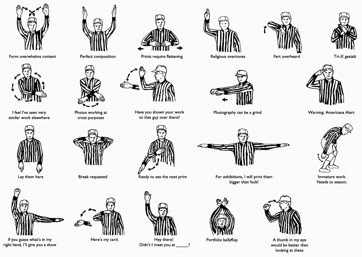 Portfolio Review Referee Signals by  Blake Andrews