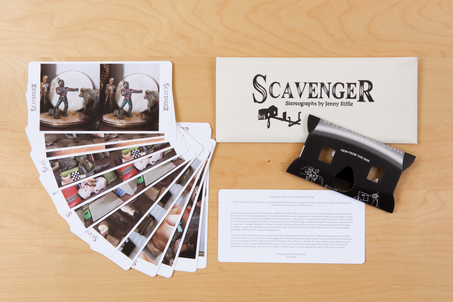 Scavenger: Adventures In Treasure Hunting  by Jenny Riffle