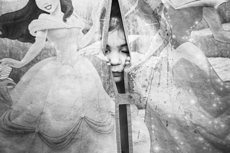 Surrounded by Pincesses, 2016 ,  Danielle René Khoury