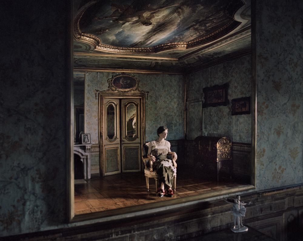 Olga Khokhlova  from the series  Le Donne di Picasso ,  Cristina Vatielli