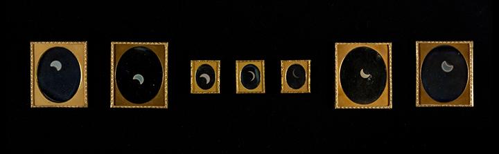 William Langenheim (American, born Germany, Schöningen 1807–1874) and Frederick Langenheim (American, born Germany, Schöningen 1809–1879), Eclipse of the Sun, 1854, Daguerreotype.  The Metropolitan Museum of Art, Gilman Collection, Gift of The Howard Gilman Foundation, 2005