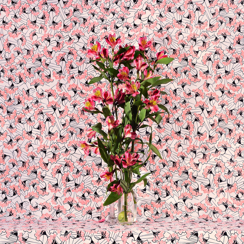 Flowers and Fabric #6 (Hawaii) , Jennifer Zwick