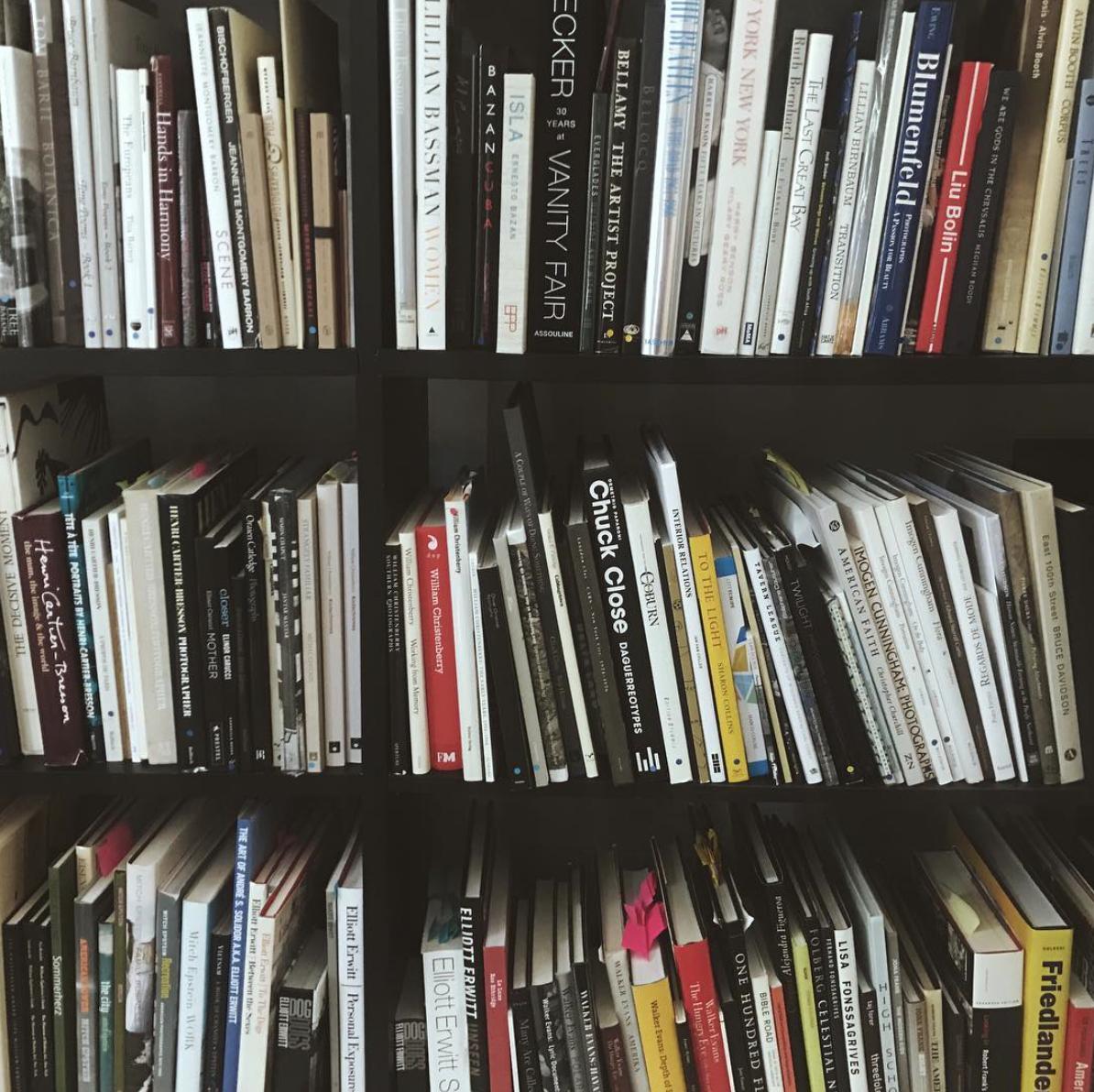 The photobook collection at  Jackson Fine Art