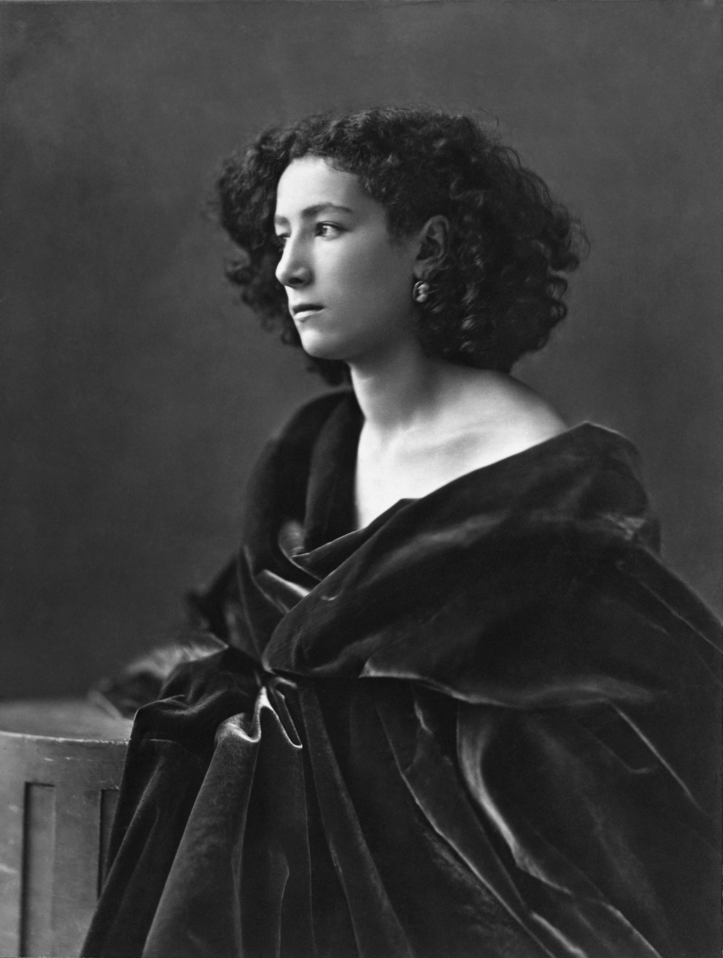 Sarah Bernhardt, 1864 by Nadar. Photo courtesy of Getty Images