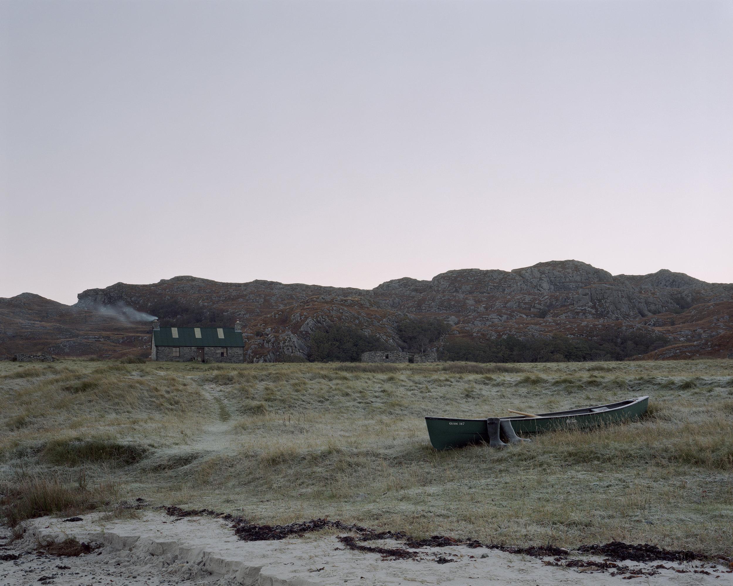 Sandy's Canoe at Peanmeanach, Ardnish, Peninsula, Scotland