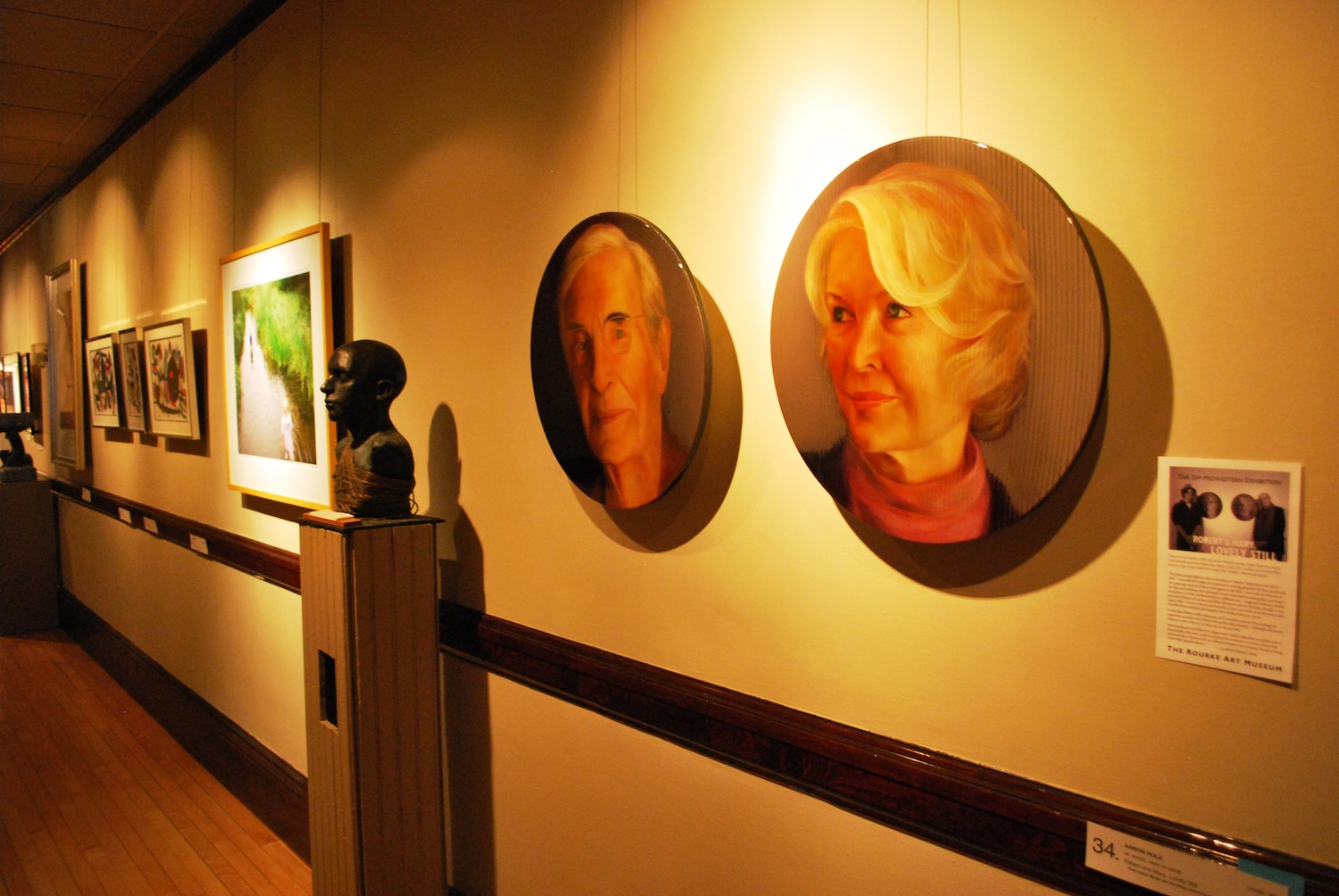 (Fig. 5)  While these are paintings rather than photos, they illustrate how paired portraits can create an attractive interpersonal aura that will connect with many viewers. Photo by  Fargo-Moorhead CVB via Flickr , used under Creative Commons.