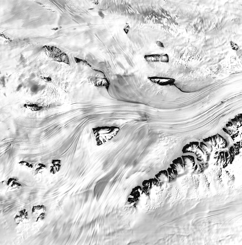Melting Lambert-Fisher Glacier