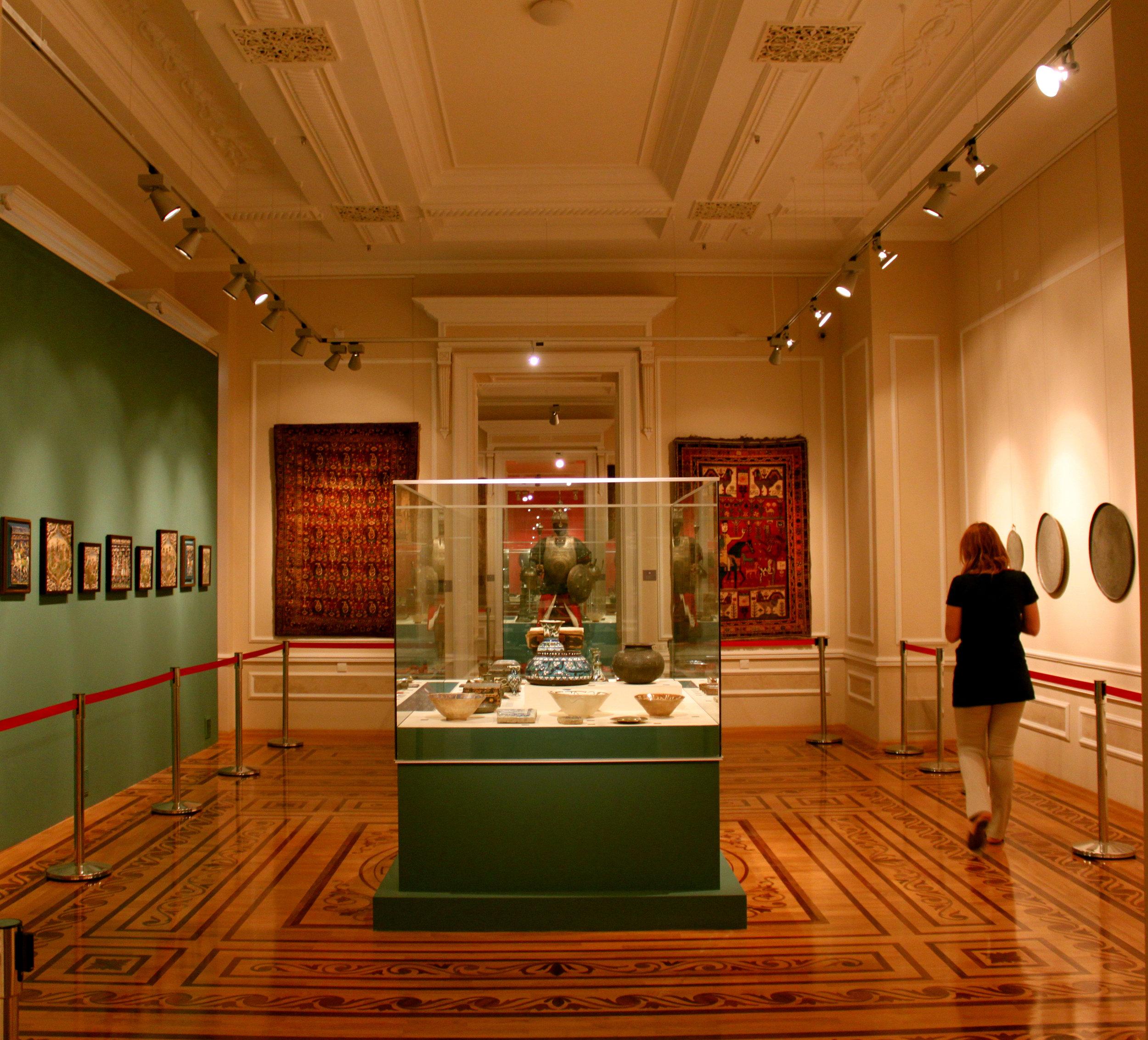 Azerbaijan National Art Museum. By Urek Meniashvili via  Wikimedia Commons