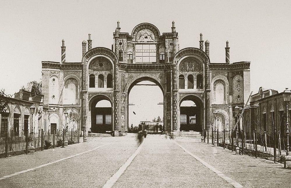 Gates of Old Tehran . By Kianoosh Motaqedi. City Photo Museum, Tehran, Iran
