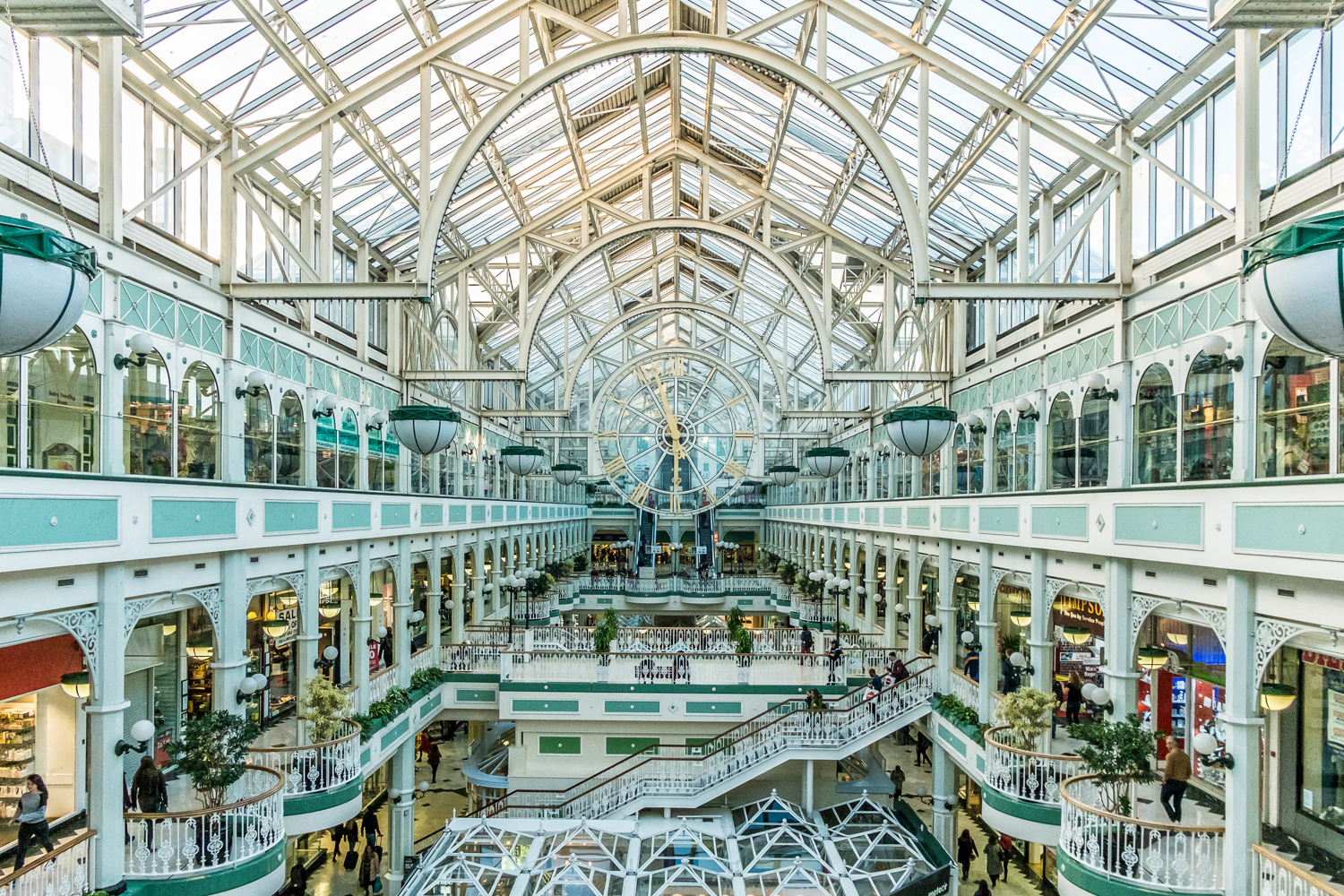 Stephen's Green Shopping Center, Dublin, Ireland