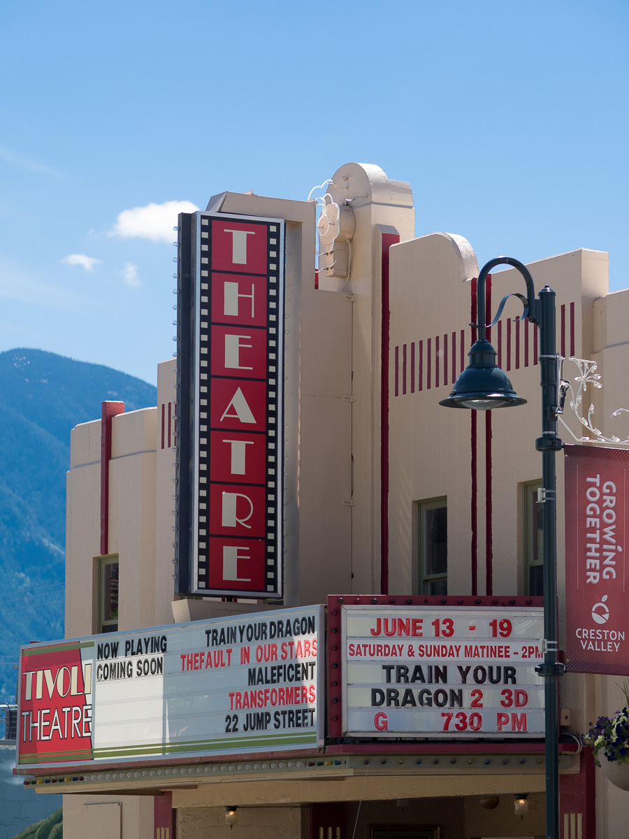 Tivoli Theatre, Creston, BC