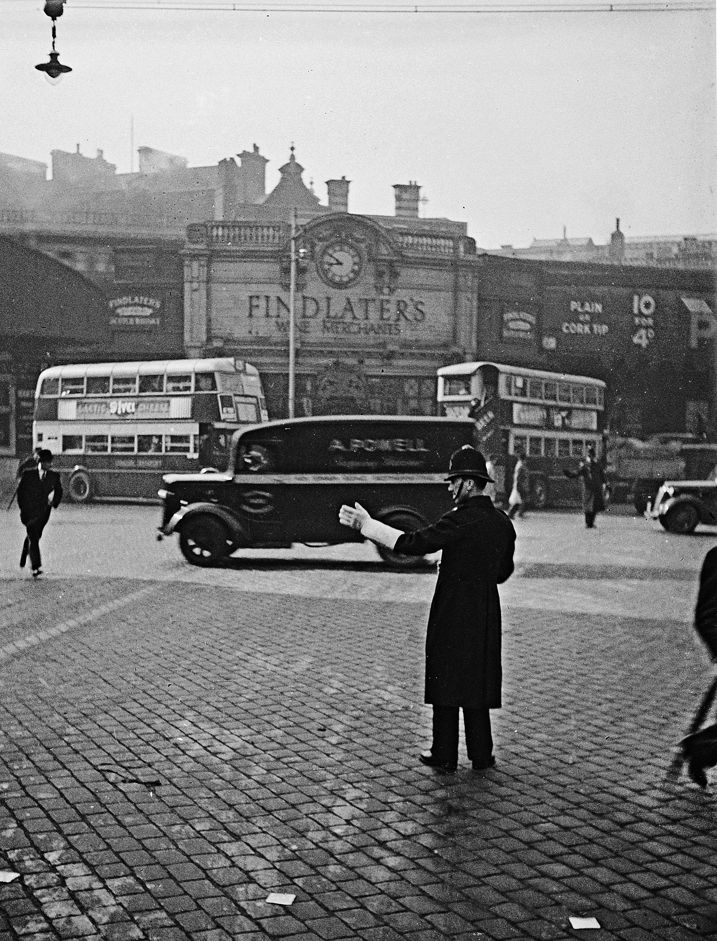 Traffic Duty, London, c. 1930s
