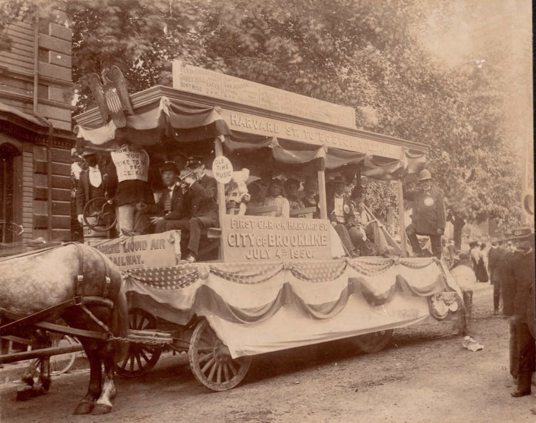 July 4th Celebration (Antiques and Horribles), 1882