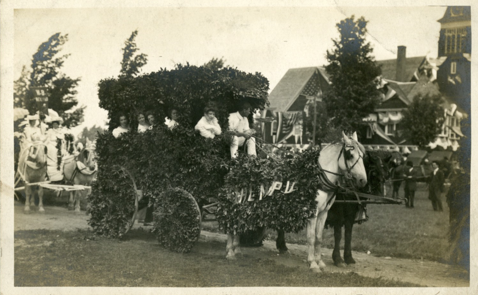 The Maples Float, 1908